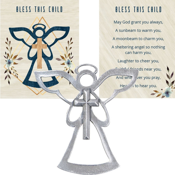 Angel Blessing Ornament - Bless This Child