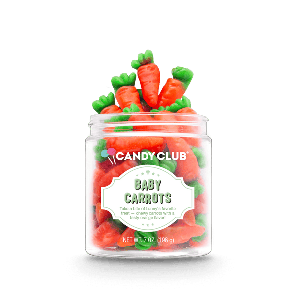 Candy Club - Baby Carrots (Orange Flavor)