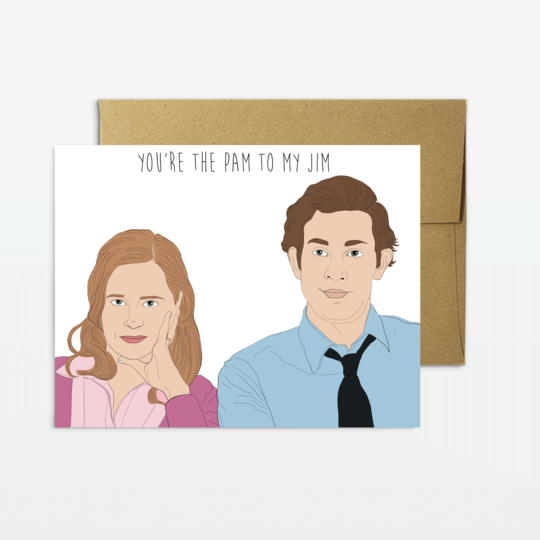 Party Mountain Paper co.  - Pam To My Jim Card