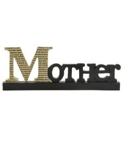 Mother - Best Friend Free Standing Decorative Sign - Mellow Monkey