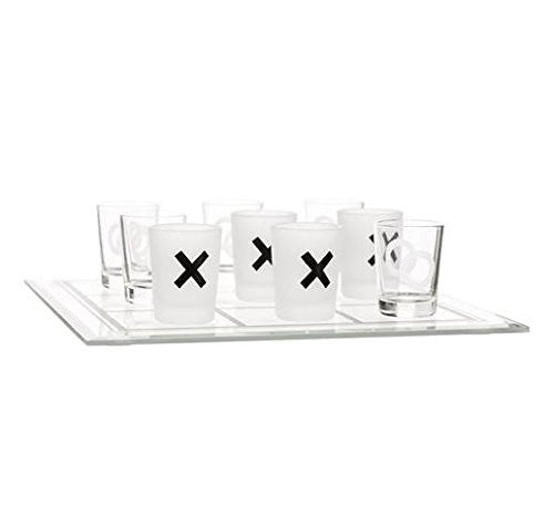 Tic Tac Toe - Shot Glass Drinking Game - Mellow Monkey