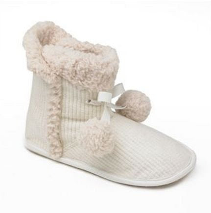 Unleashed by Rocket Dog Snowcone Rolling Knit Bootie Slippers - Women (11) - Mellow Monkey