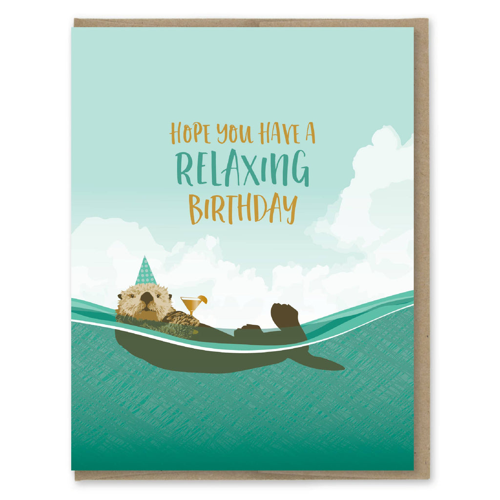 Hope You Have A Relaxing Birthday - Greeting Card