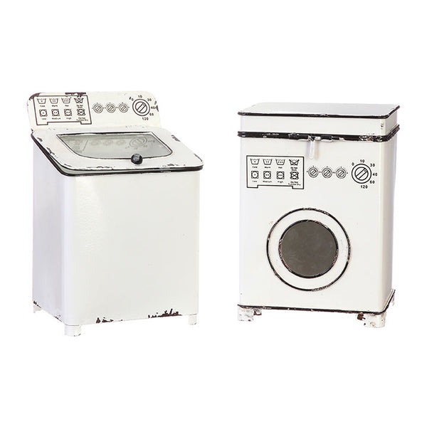 Retro Washer and Dryer Decorative Figures