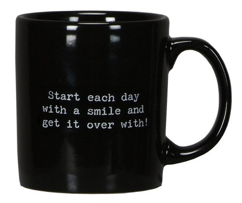 "Trash Talk by Annie ""Start Each Day"" Mug - Mellow Monkey"