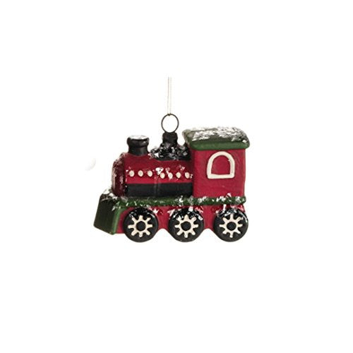 Vintage Transportation Holiday Christmas Tree Ornament - 5-in (Train Locomotive) - Mellow Monkey  - 2