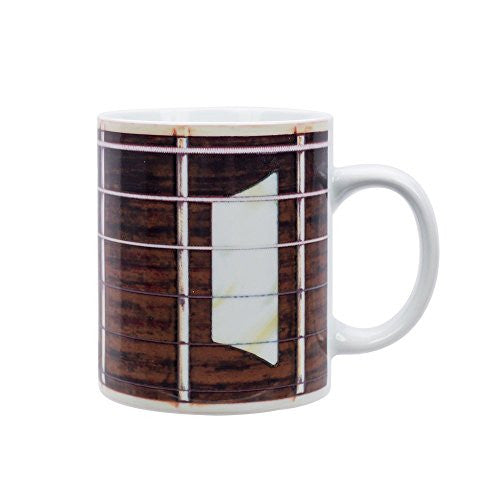 Jay - Live Fast Dine Young Mug - Big Mug - Guitar - Mellow Monkey