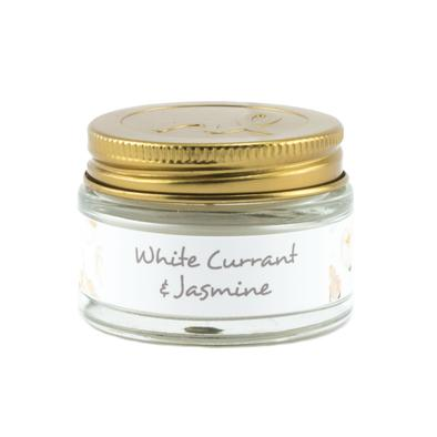 White Currant and Jasmine Mini Travel Candle - 1-oz