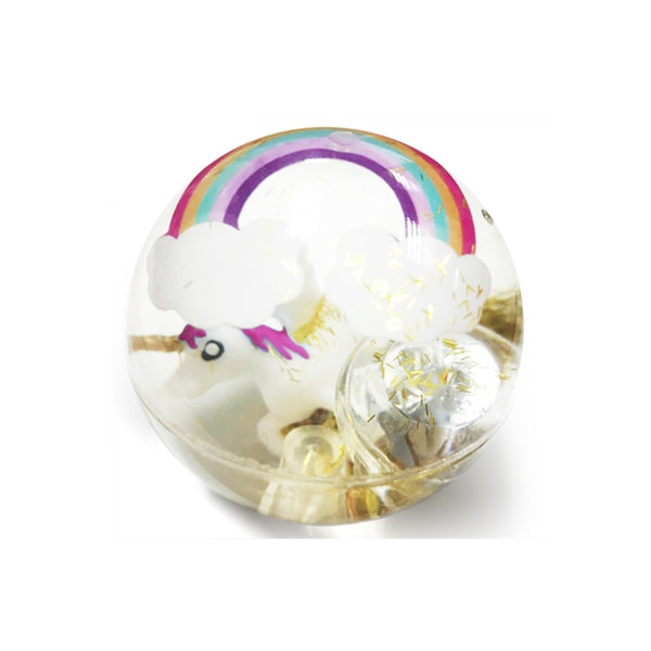 Unicorn Bouncing Ball with LED Flashing Light