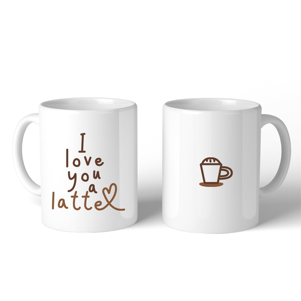 I Love A Latte Coffee Mug