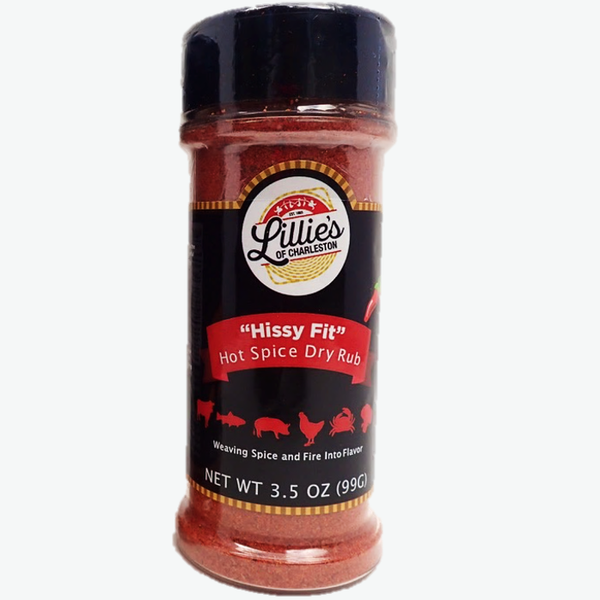 """Hissy Fit"" All Purpose Hot Spice Rub and Blend, 3.5 oz"