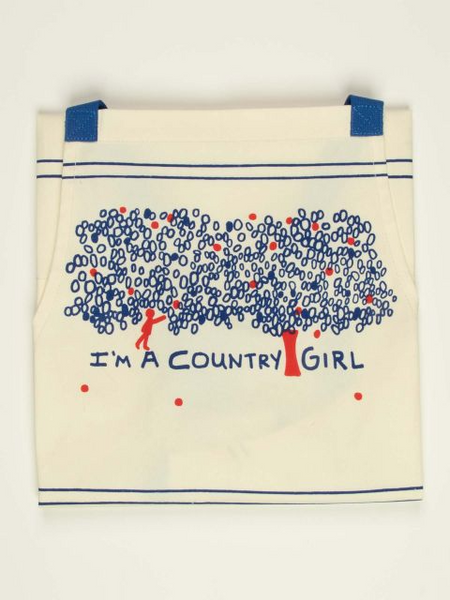 I'm A Country Girl - Kitchen Apron