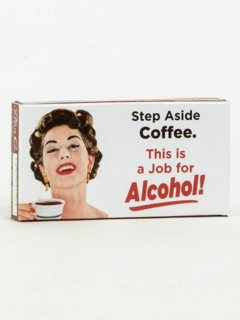 Step Aside Coffee, This Is A Job For Alcohol - Gum