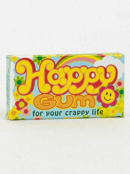 Happy Gum For Your Crappy Life - Fruit Flavored Gum
