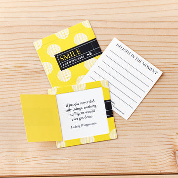 Smile - Thoughtfuls Pop-Open Cards With Inspiring Messages