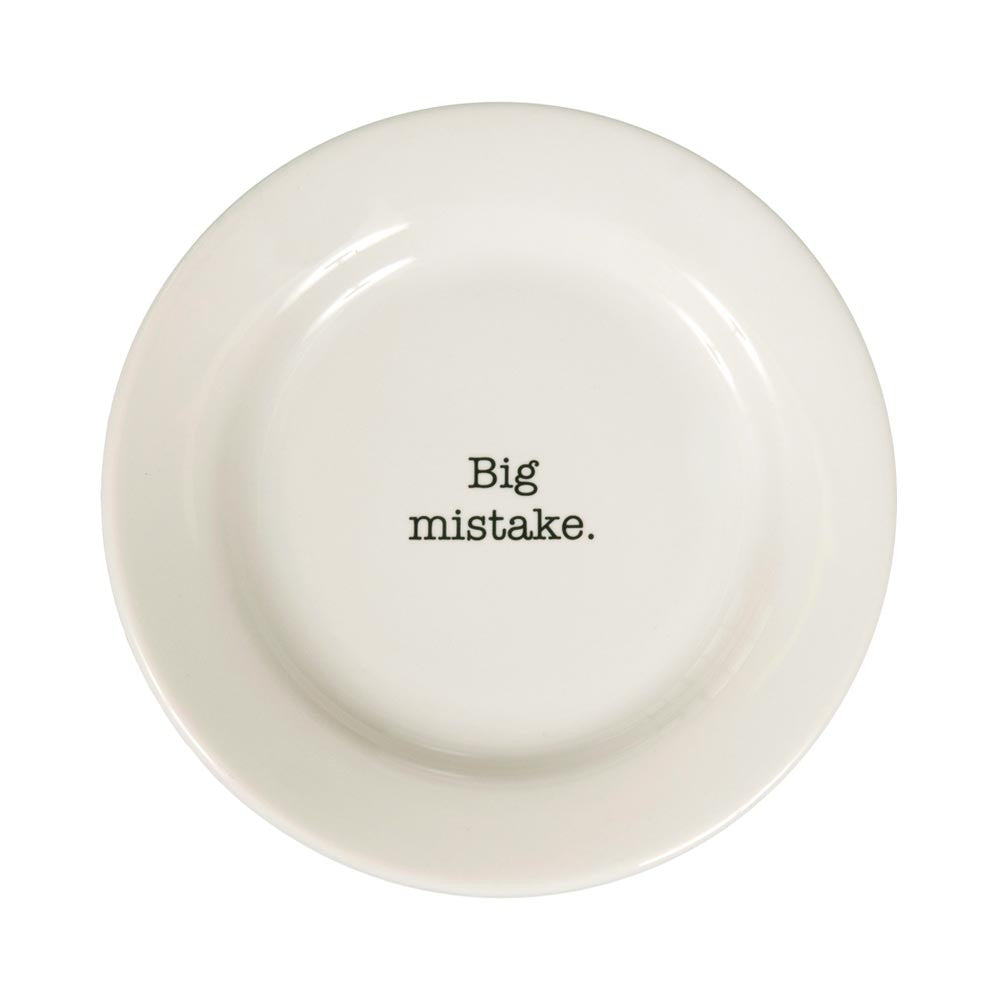Big Mistake | Side Plate - 8-1/4-in