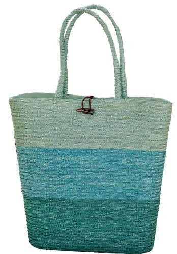 Tag Seaside 18-Inch by 18-Inch Jumbo Wheat Grass Tote Bag - Mellow Monkey