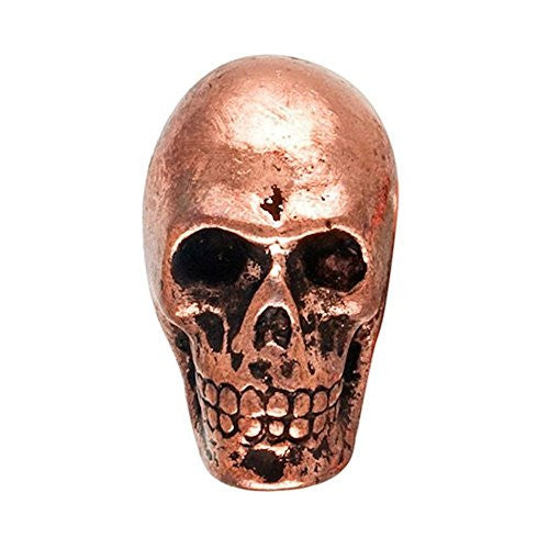 Metal Skull Drawer Dresser Cupboard Pull Knob (Antique Copper) - Mellow Monkey