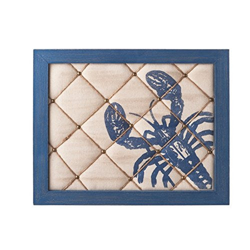 Lobster Pin Board Wood and Fabric - Mellow Monkey