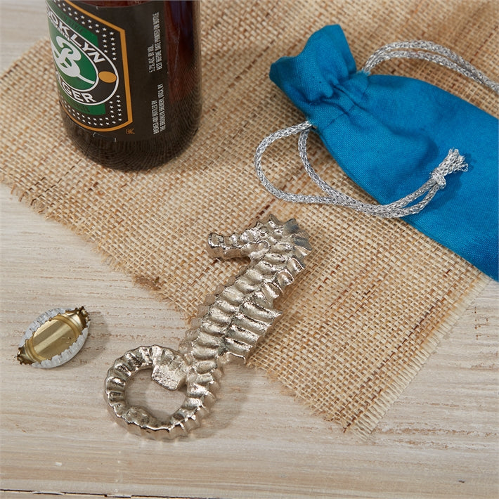 Seahorse Bottle Opener | Gift Pouch