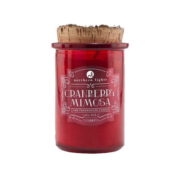 Spirit Jar Craft Cocktail Candle | Cranberry Mimosa