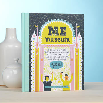 Me Museum Hard Cover Book by M.H. Clark