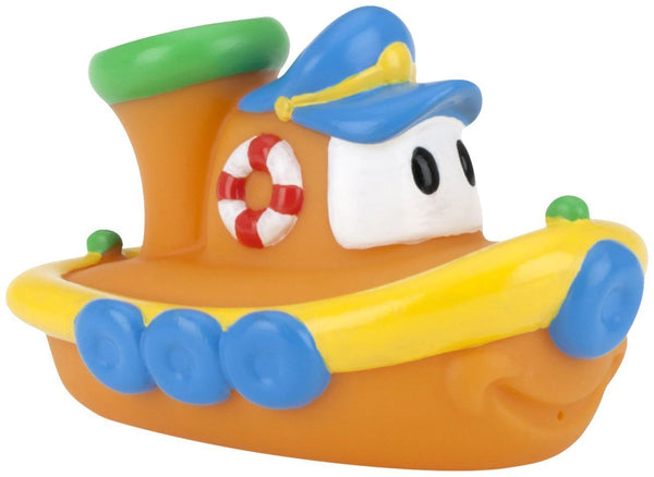Nuby Tub Tugs Floating Boat Bath Toys 2-Pack