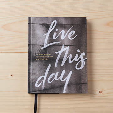 Live This Day | A Guided Journal To Inspire Positivity and Intention | Hardcover
