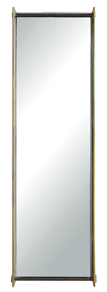Rectangular Metal Framed Wall Mirror | 27-1/2-in