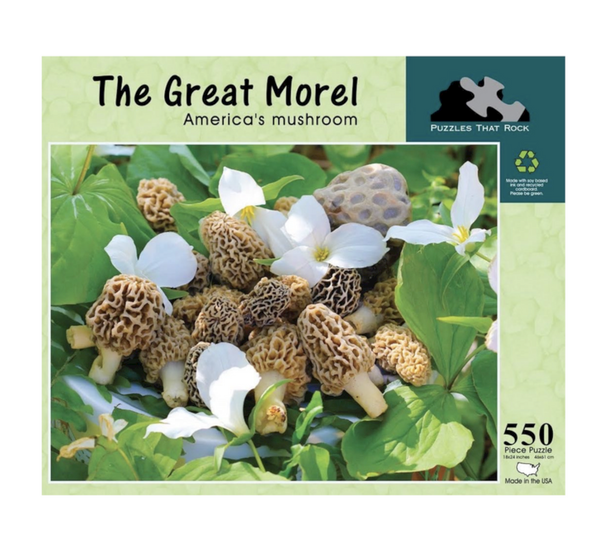 The Great Morel Jigsaw Puzzle 550 Piece