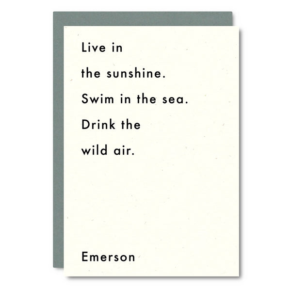Little City Love - Emerson (Wild Air) Card