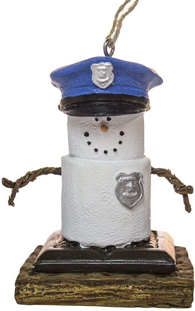 S'mores Police - Holiday Ornament