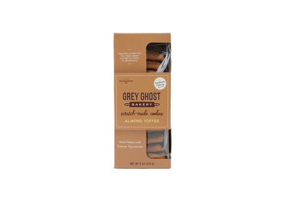 Grey Ghost Bakery - Almond Toffee 8oz Bag