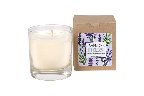 No. 6 Lavender Fields Hand Poured Soy Candle 7-oz
