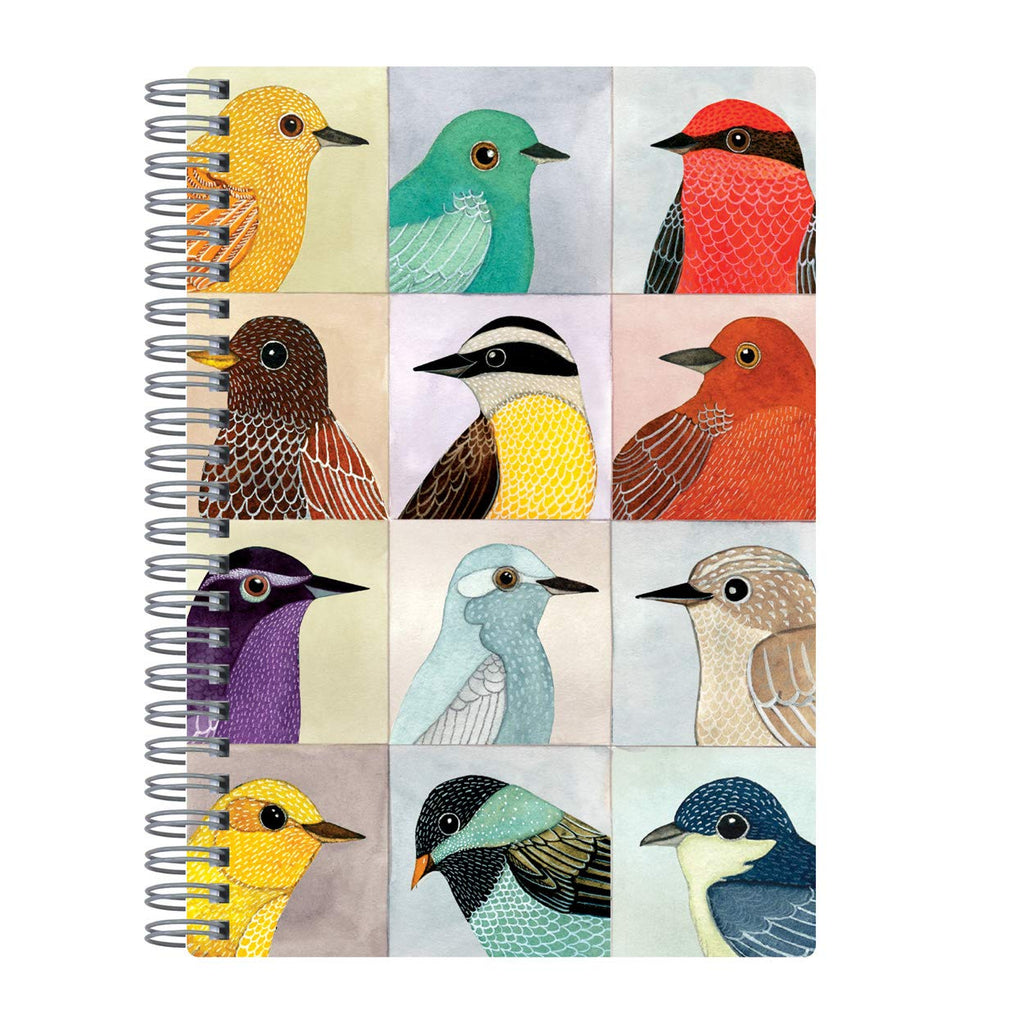 Avian Friends Wire-O Illustrated Diary Journal