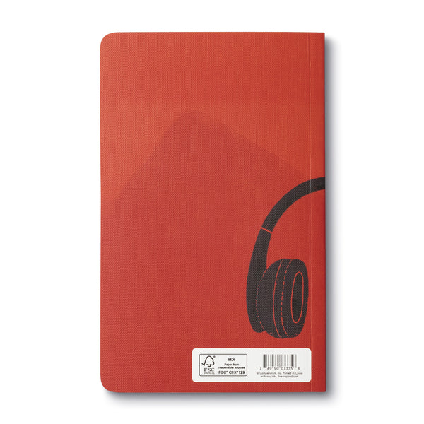 Let Your Music Play - Write Now Blank Journal