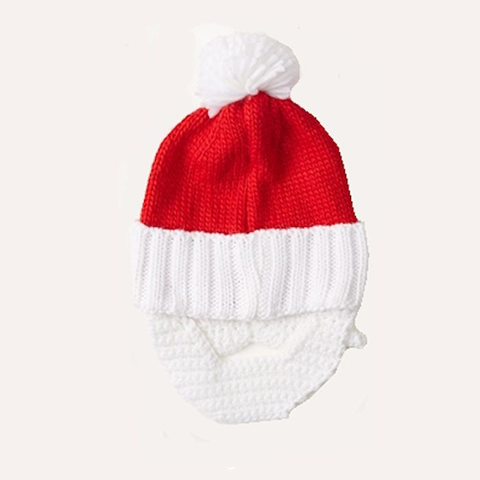 24c31be45f90b Ugly Sweater Knit Hat - Santa Hat and Beard 80912-20 Two s Company – Mellow  Monkey