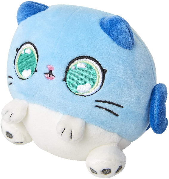 Kitten Catfé Meowble Scented Round Kitten Ball Plush - 4-in - Blue