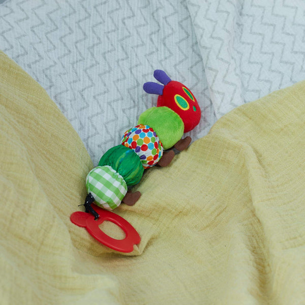 The Very Hungry Caterpillar Teether Rattle - Teething Toy for Babies