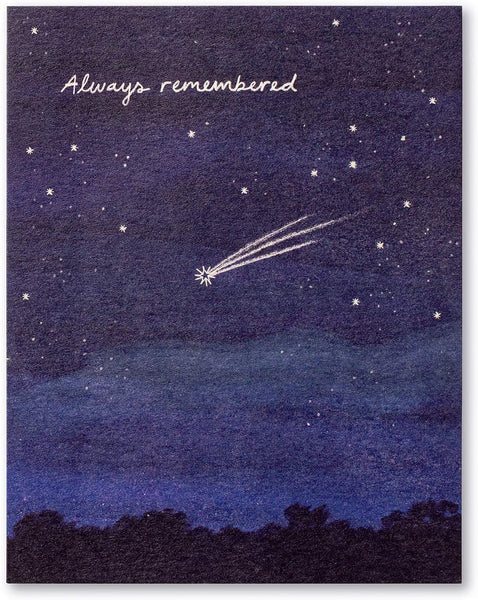 Love Muchly Greeting Card - Sympathy - Always Remembered