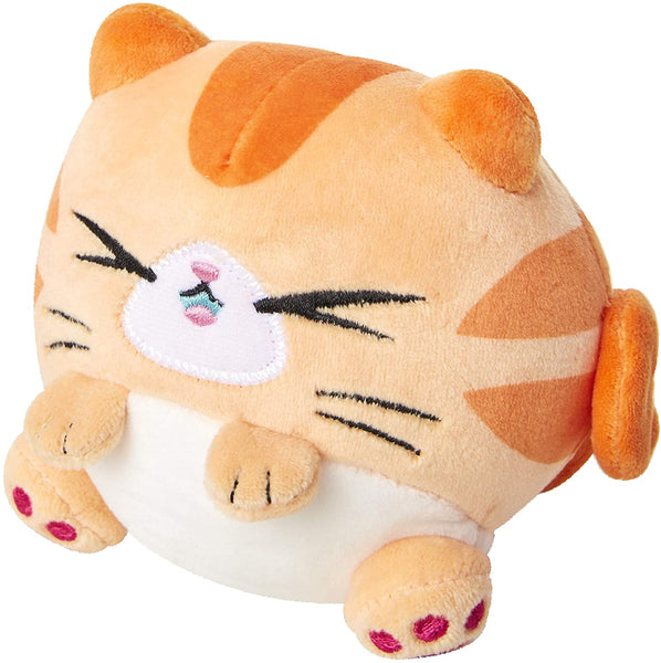 Kitten Catfé Meowble Scented Round Kitten Ball Plush - 4-in - Orange