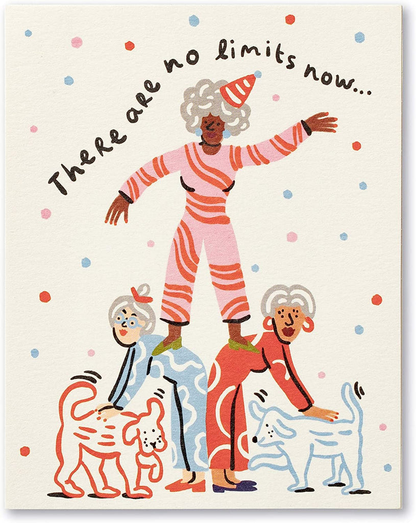 Love Muchly Greeting Card - Birthday - There Are No Limits Now