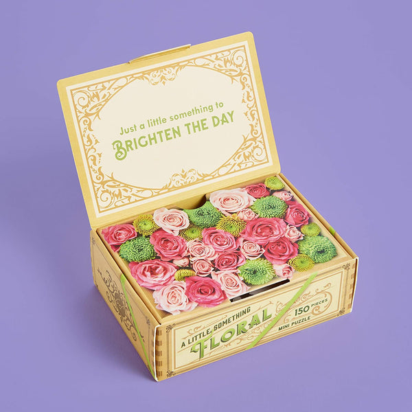 A Little Something Floral: 150-Piece Mini Puzzle, Flower Delivery