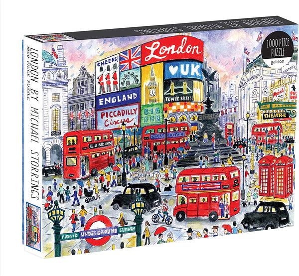 Michael Storrings Streets of London Jigsaw Puzzle - 1000 Pieces