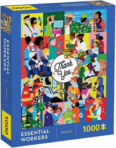 Essential Workers 1000-Piece Puzzle - Tribute To Everyday Heroes