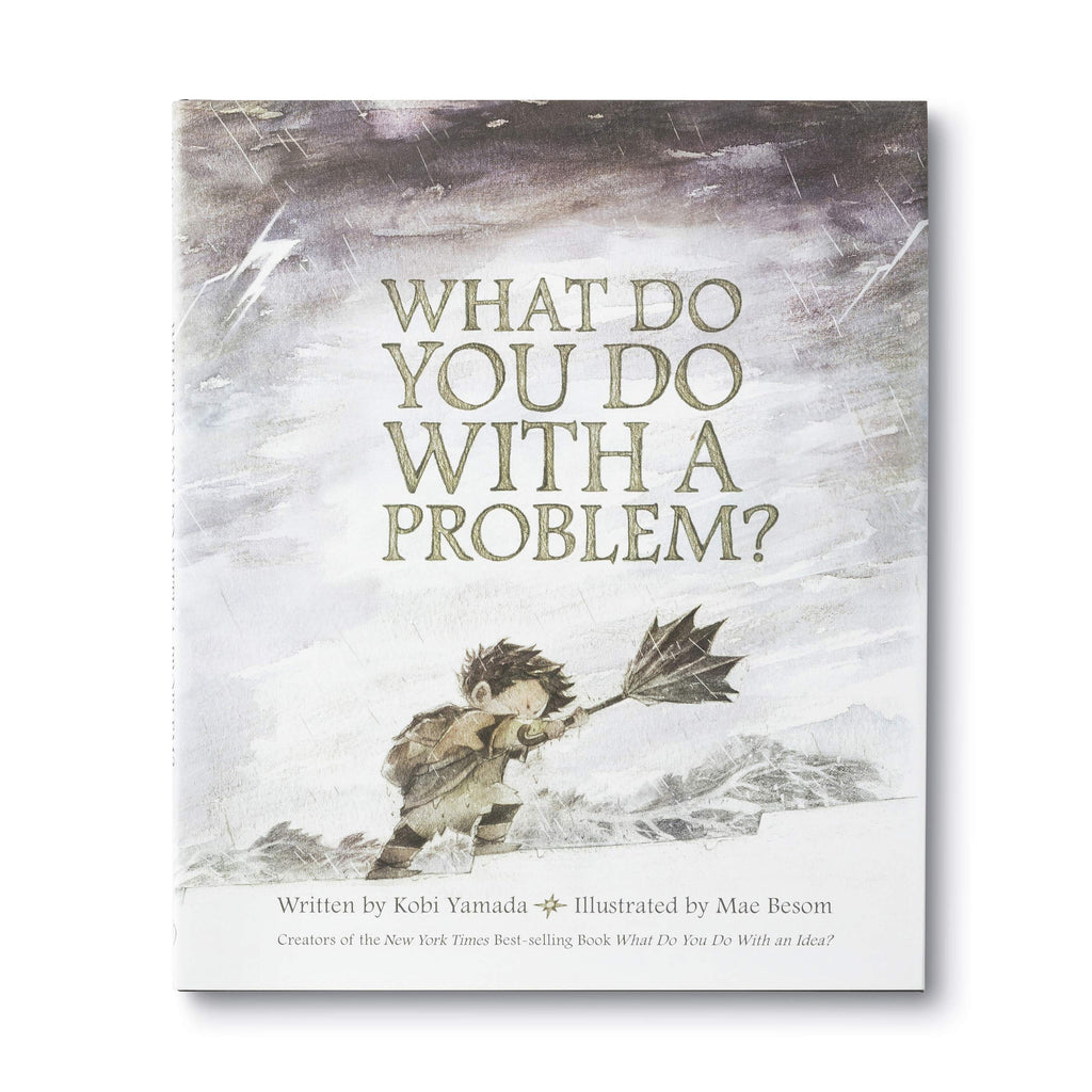 What Do You Do With A Problem? - Illustrated Hardcover Book