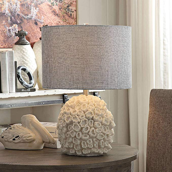 Sea Life White Coral Table Lamp - 22-in