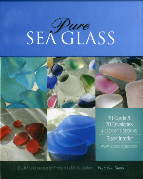 Pure Sea Glass Notecards - Series 3 - Set of 20