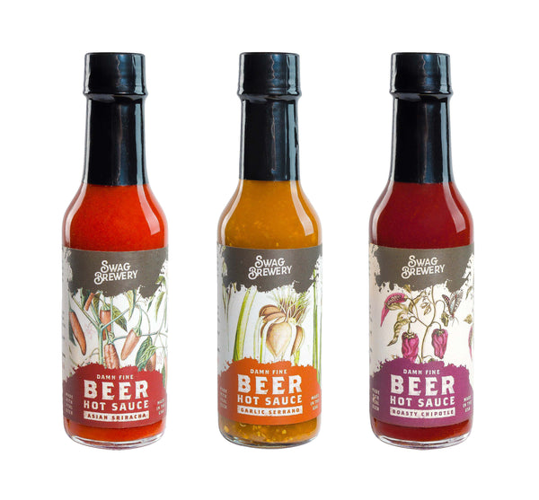 Swag Brewery -- Beer-infused Hot Sauce