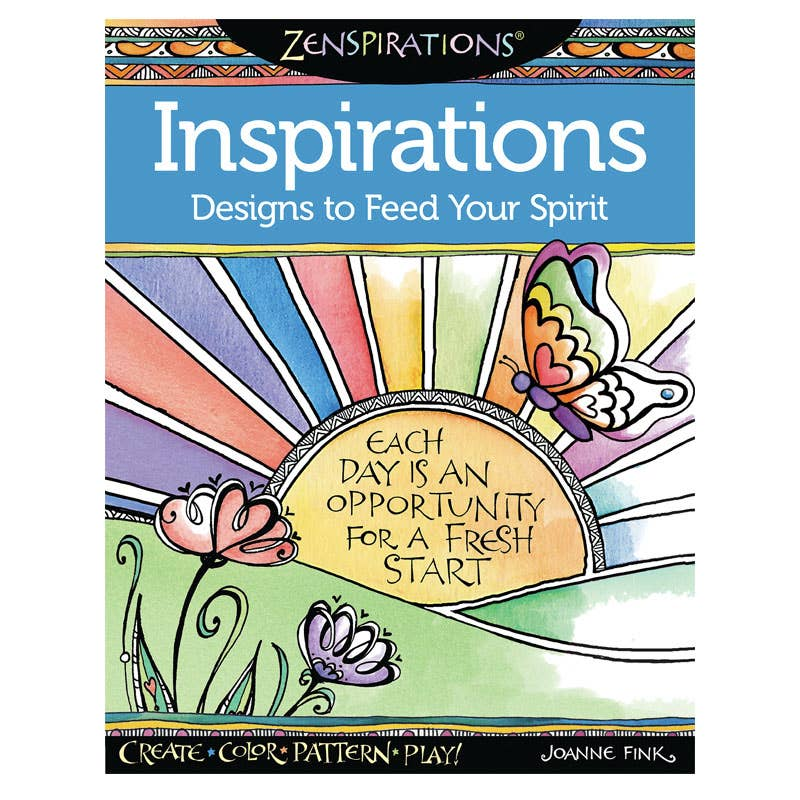 Wellspring - Inspirations Coloring Book